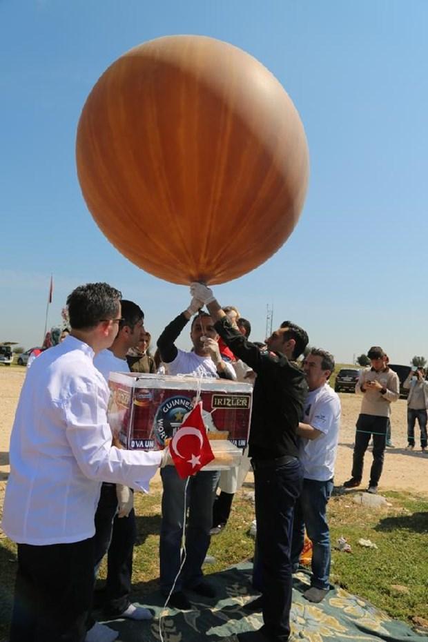 uzaya giden türk böreği balon