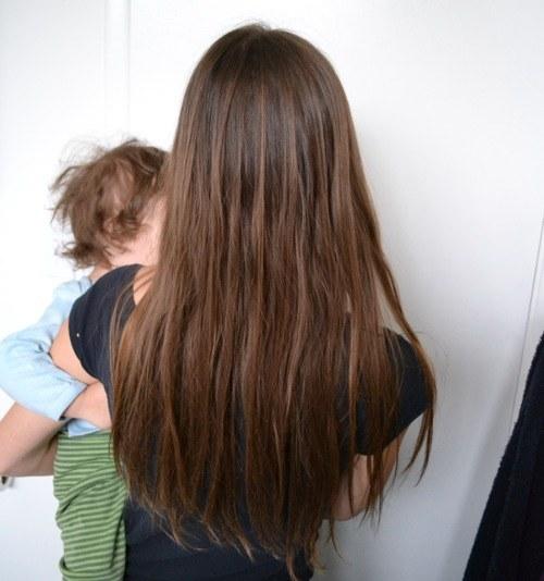 yıkanmayan saç 6. hafta