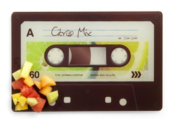 kaset şeklinde doğrama tahtası