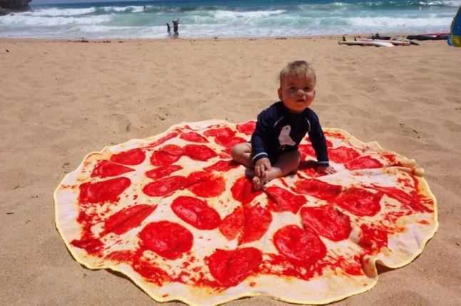 pizza havlu