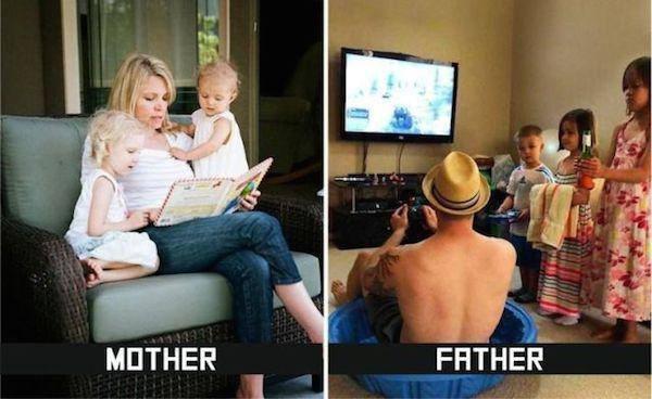 Anne ve Baba Arasındaki farklar2