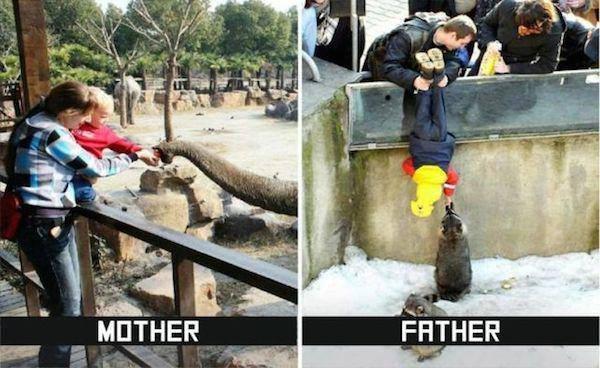 Anne ve Baba Arasındaki farklar5
