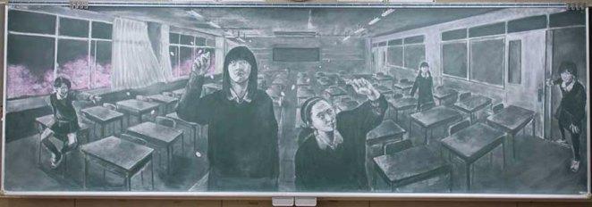 Kara Tahta ve Tebeşirle Çizimde Harikalar Yaratmak 5