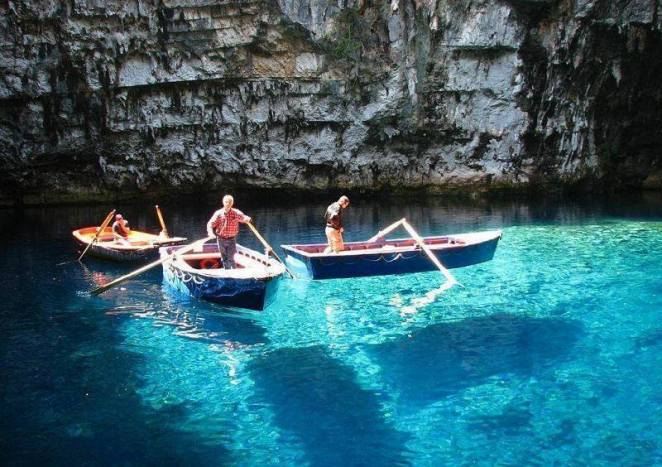 melissani Yunanistan