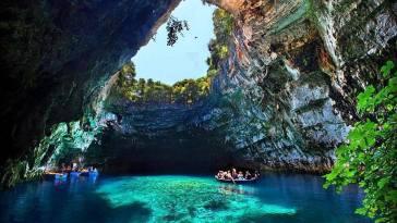 melissani mağarası nasıl