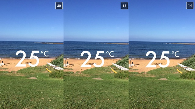 snapchat sıcaklık ölçme