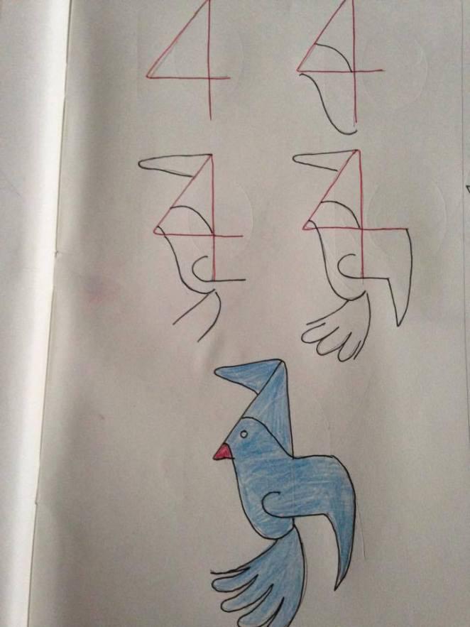 çocuklar çizim