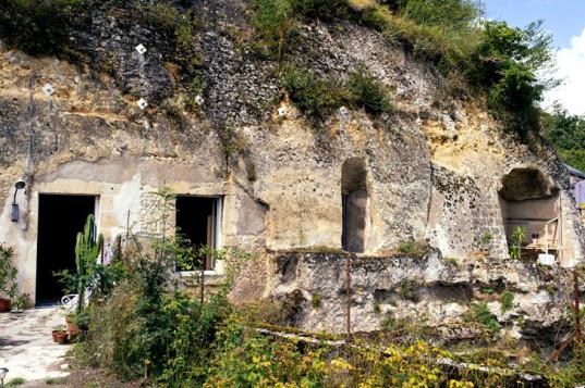 Chez-Helene-mağara ev