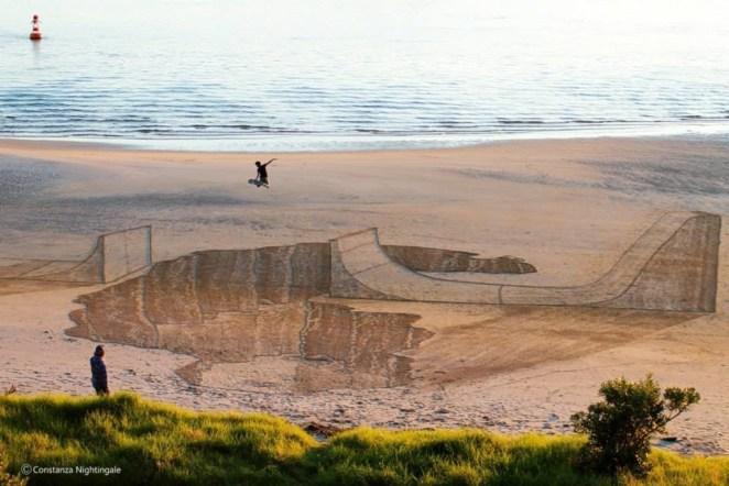 Plajda 3D kumdan kale 4