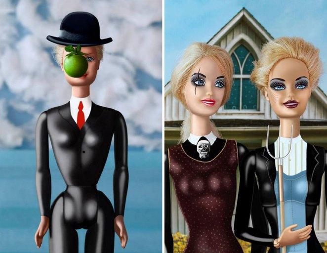barbie işgal