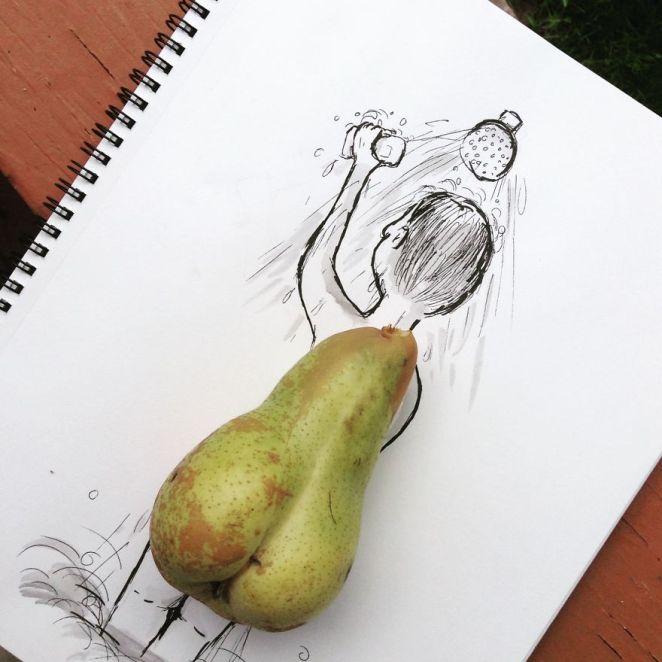 sanatsal çizimler