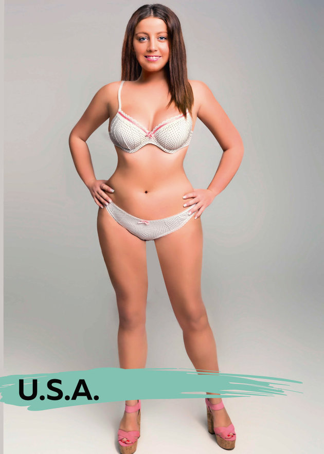 Ülkelere göre ideal vücut ölçüleri  16