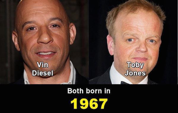 Aynı yaşta olduklarına inanamayacağınız ünlüler 4