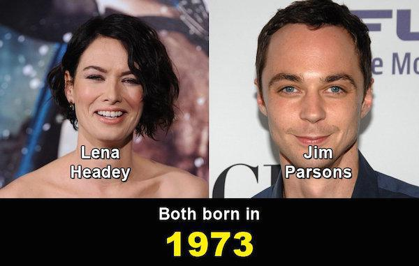 Aynı yaşta olduklarına inanamayacağınız ünlüler 7