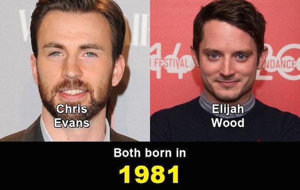 Aynı yaşta olduklarına inanamayacağınız ünlüler 9