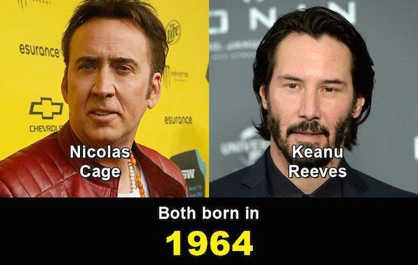 Aynı yaşta olduklarına inanamayacağınız ünlüler