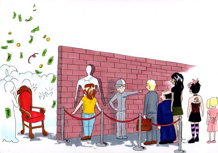 Cinsiyet Eşitsizliğini Gösteren Karikatürler 00