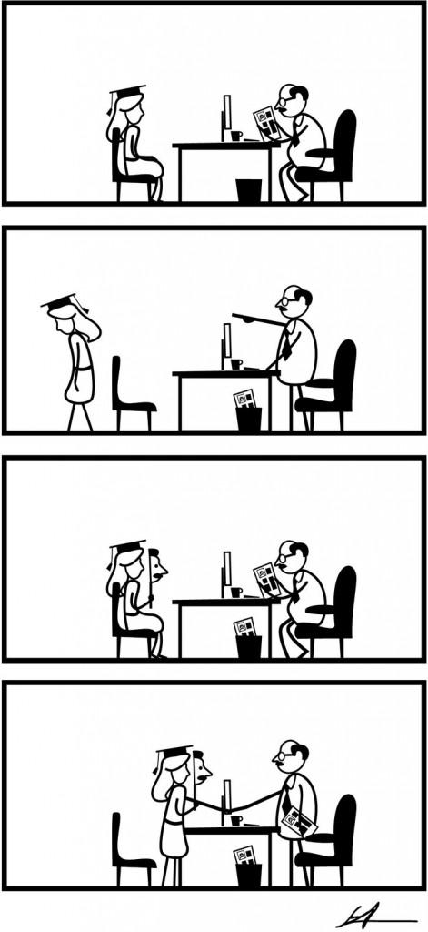 Cinsiyet Eşitsizliğini Gösteren Karikatürler 3