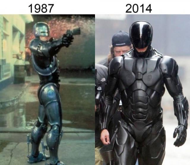 Filmlerin önceleri sonraları robocop