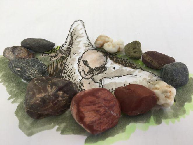 Taşlarla sanat