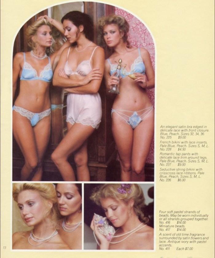 Victoria's Secret 1979 ve 1982 fotoğrafları 7