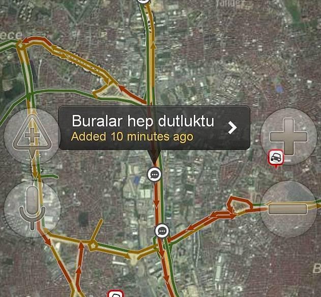 Yandex haritalara eklenmiş komik notlar 16
