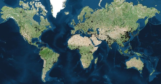 100 binden fazla nüfusa sahip şehirler