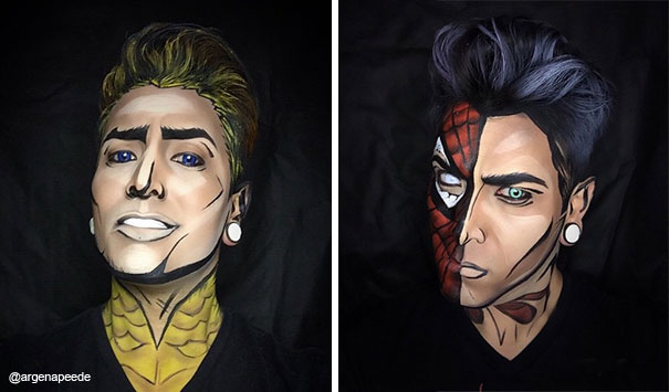 Aquaman ve Örümcek Adam