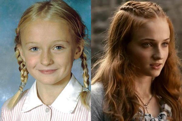 Game of Thrones oyuncularının çocukluk fotoğrafları 8