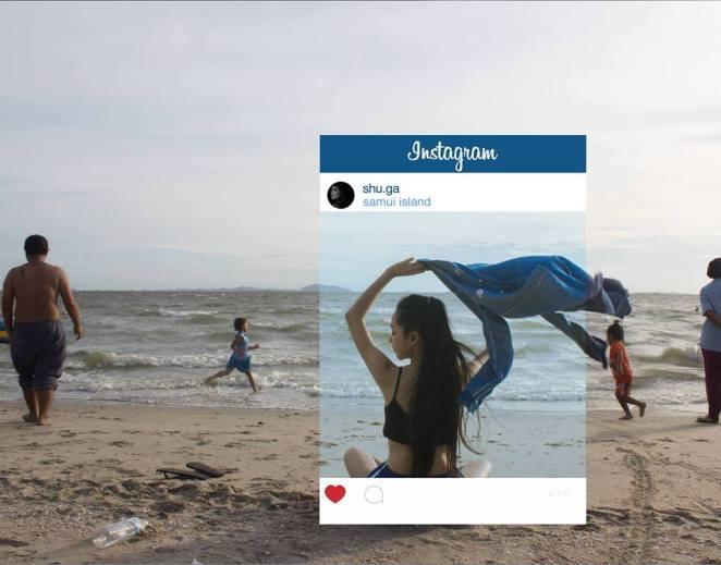 Instagram Fotoğraflarının Yüzünü de Gösteren Çalışma 3