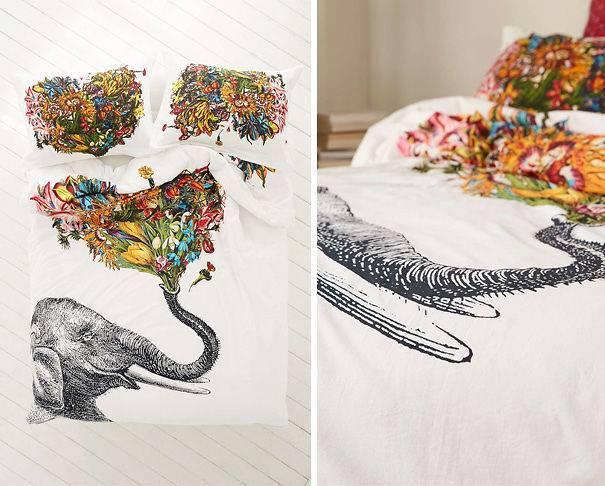 fil yatak örtüsü