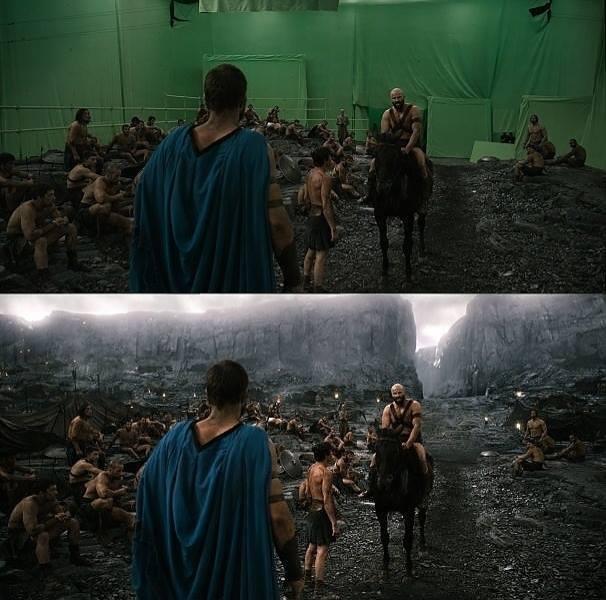 sahnelerin gerçek halleri