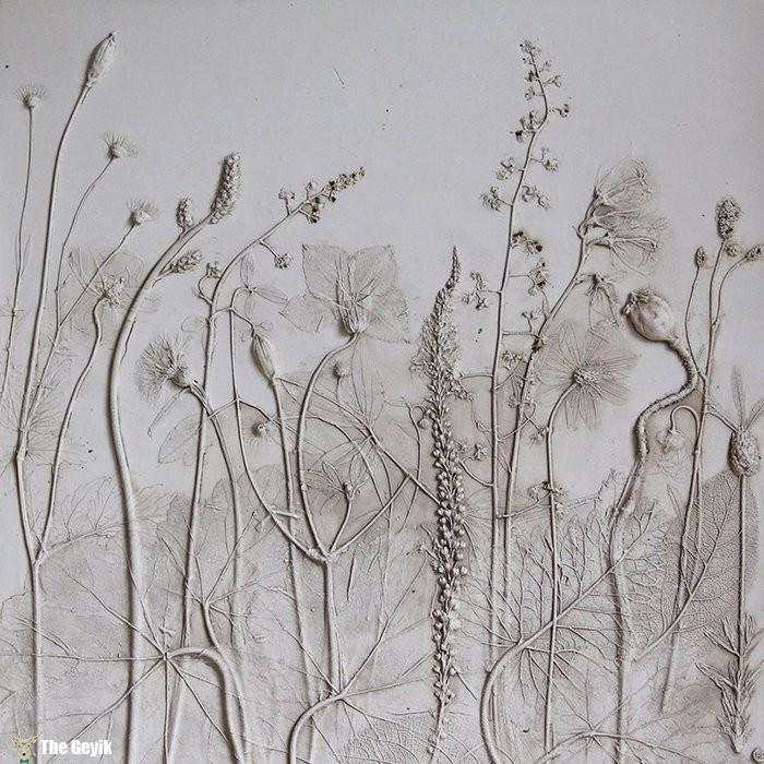 fosil çiçekler