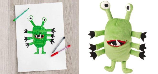 çocuk çizimleri ikea oyuncak