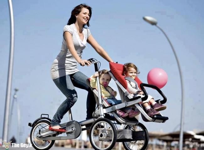 çocuk arabası bisiklet