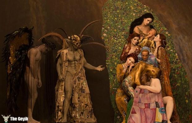 Gustav Klimt'in Erotik Eserleri Canlandı 10