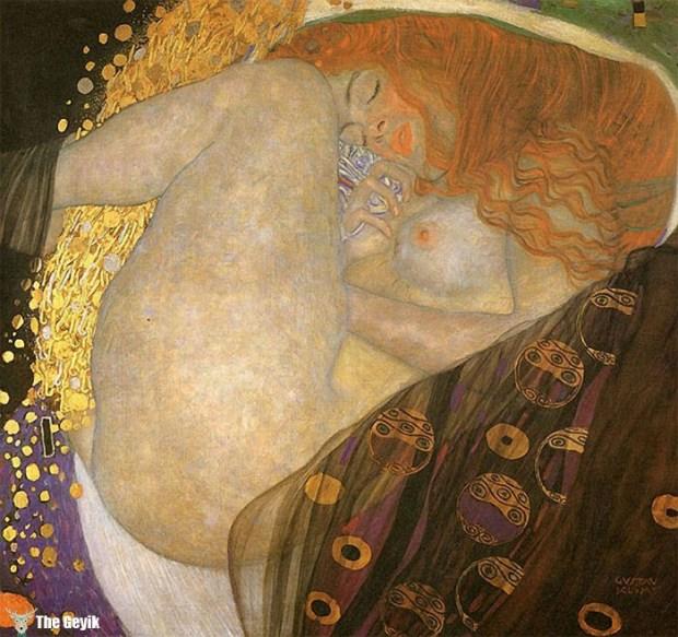 Gustav Klimt'in Erotik Eserleri Canlandı 2
