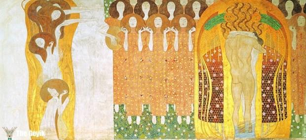 Gustav Klimt'in Erotik Eserleri Canlandı 5