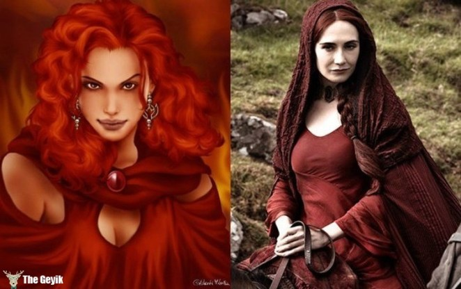 Melisandre (aka The Red Woman)