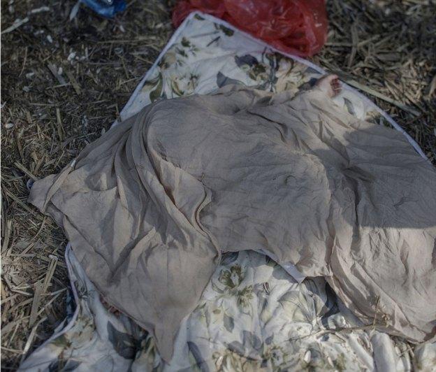 Suriyeli göçmen çocukların yattığı yerler magnus wennman 11