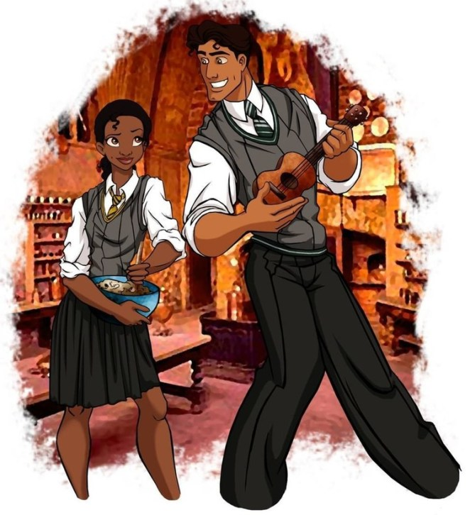 Tiana ve Prince Naveen