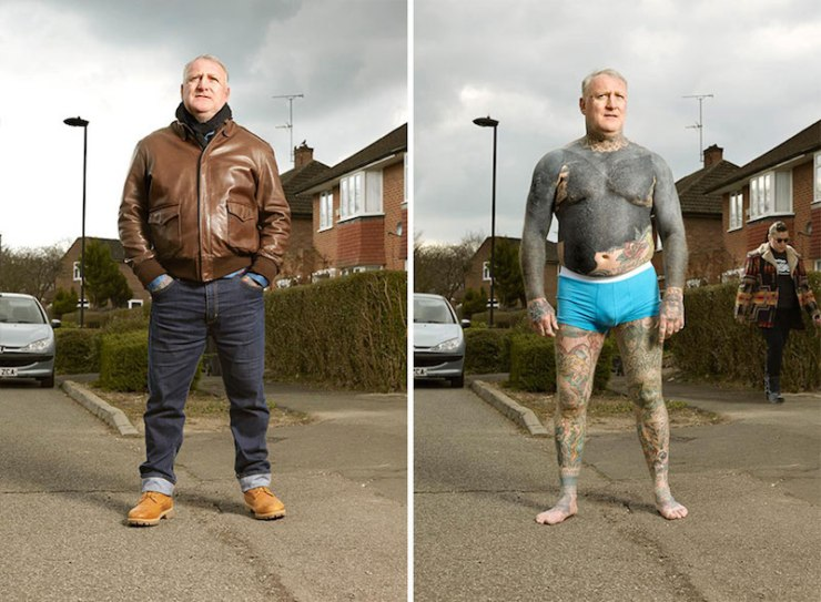 dövmeli insanlar