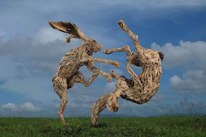 heykel ağaç