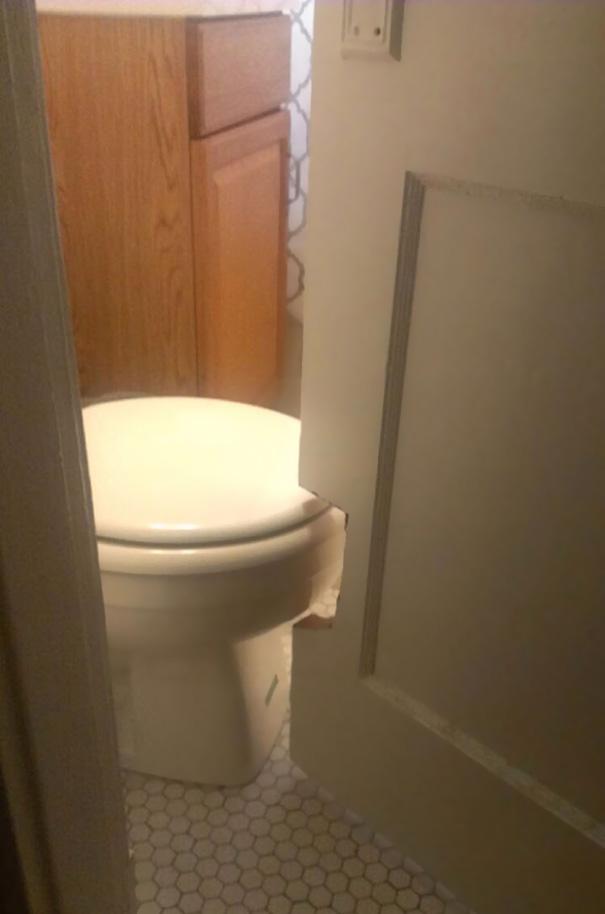 tuvalet kapı