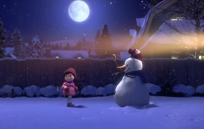 Lily-Snowman-video
