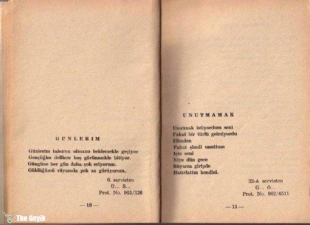 Akıl Hastalarının Yazdıkları Şiirler 6