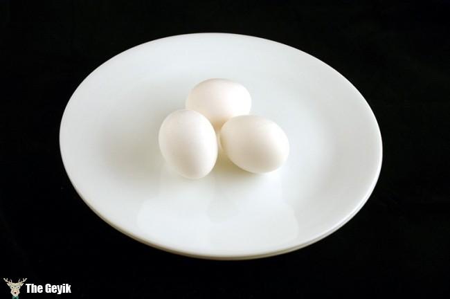 kaynamış yumurta