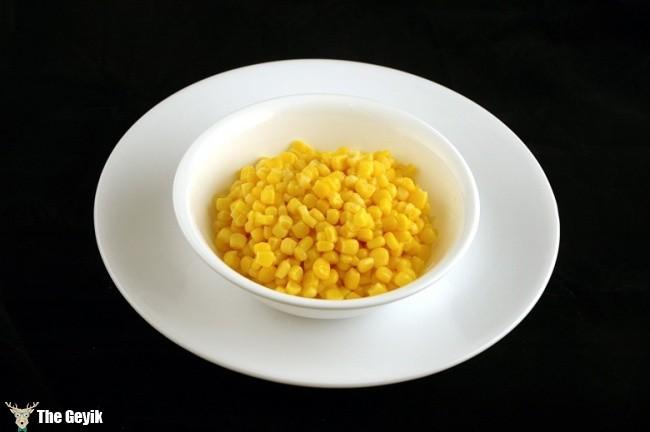 konserve mısır