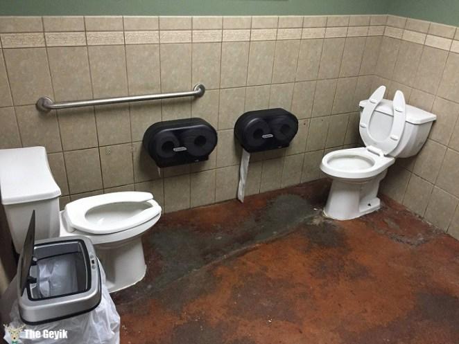 İlginç komik banyo ve tuvaletler 11