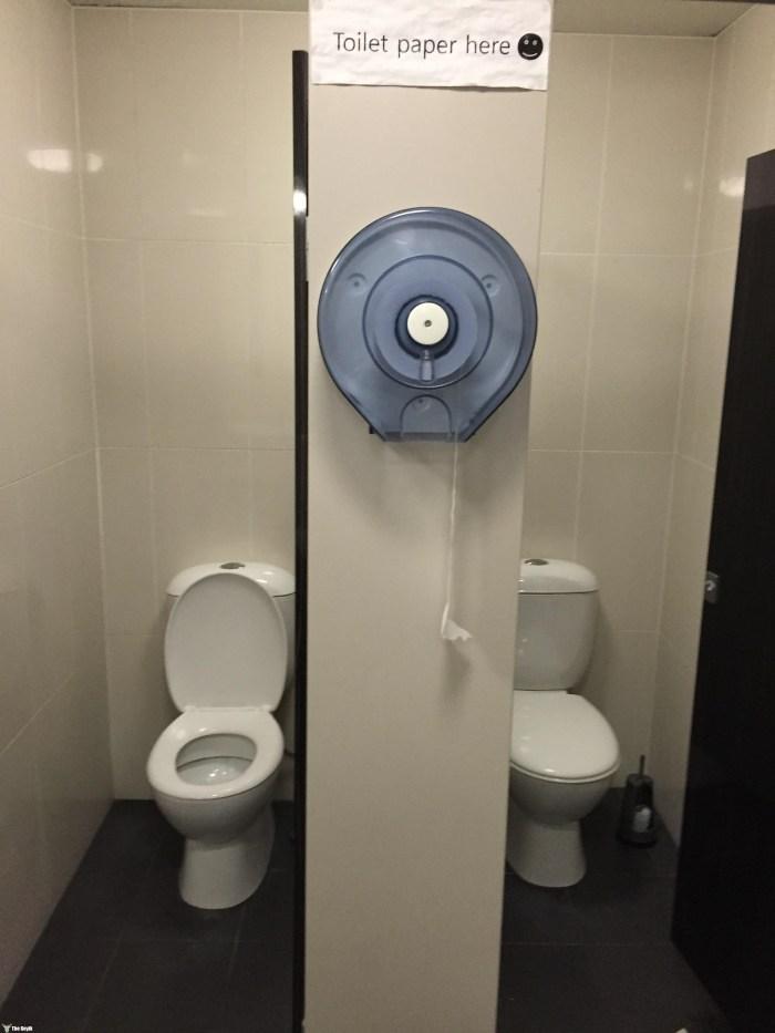 İlginç komik banyo ve tuvaletler 5